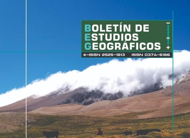 Convocatoria Abierta para el Boletín de Estudios Geográficos