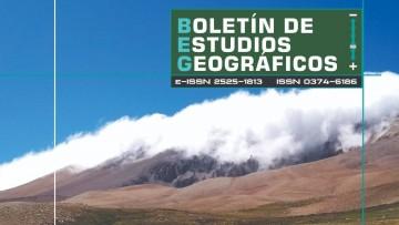 Nuevo número de la revista Boletín de Estudios Geográficos