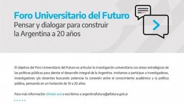Foro Universitario del Futuro: para pensar la Argentina que viene