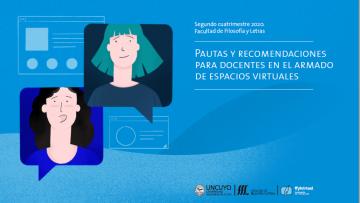 Recomendaciones para preparar las aulas virtuales del 2° cuatrimestre