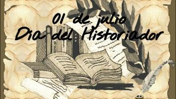 ¡Feliz día Historiadores!