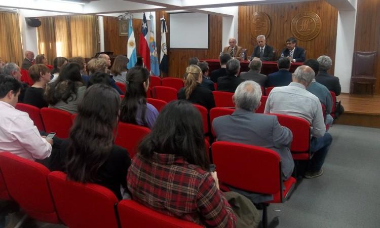 Comenzó el Seminario Internacional El Cruce de Los Andes en la Facultad