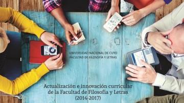 Hoy presentan un libro sobre la actualización e innovación curricular de la Facultad de Filosofía y Letras