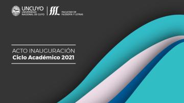 Acto de inauguración del ciclo académico 2021