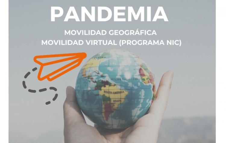 La movilidad en tiempo de pandemia: Movilidad geográfica y virtual
