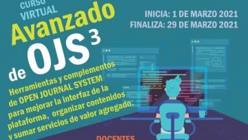 """Curso virtual: """"Revistas científicas en el entorno web. OJS 3 nivel avanzado"""""""