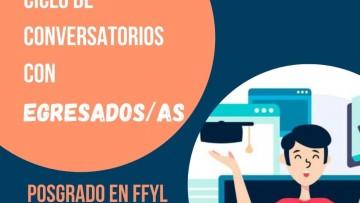 Conversatorio para dialogar sobre la oferta de Posgrado de FFYL