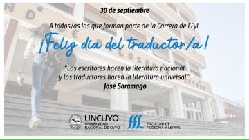 30 de septiembre: Día del Traductor/a