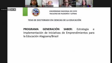 Nueva Doctora en Ciencias de la Educación