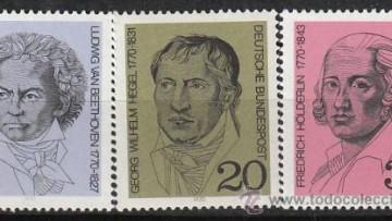 """""""Beethoven, Hölderlin y Hegel, a 250 años de su nacimiento"""""""
