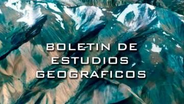 La Biblioteca finalizó la carga en línea de la colección del Boletín de Estudios Geográficos