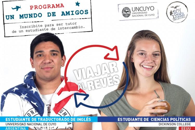 """Programa de tutores """"Un mundo de amigos""""- llamado 1º Semestre de 2018"""