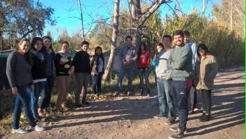 Futuros Geógrafos recorrieron áreas de estudio en el Gran Mendoza