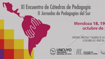 La Facultad será sede encuentro de cátedras de pedagogía y jornadas de pedagogías