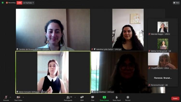 Estudiantes y egresados del Traductorado participaron en las Jornadas Nacionales de Traducción e Interpretación