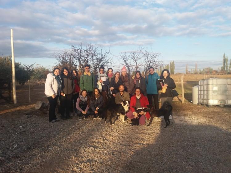 Estudiantes de Geografía aprenden sobre agricultura biodinámica y agroecología