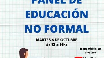 Panel: La educación no formal