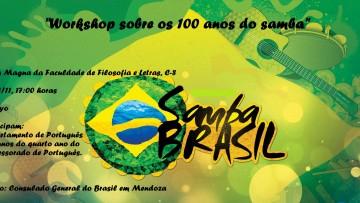 El Departamento de Portugués festejará los 100 años de la samba brasileña
