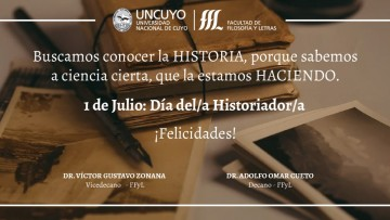 1 de Julio: Día del Historiador