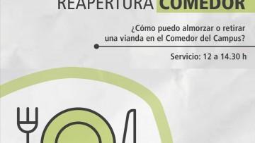 Vuelven los almuerzos en el Comedor y se suma el servicio de take away