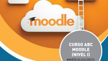 """Ciclo de capacitación """"#MiércolesConTIC"""": curso ABC Moodle (Nivel I)"""