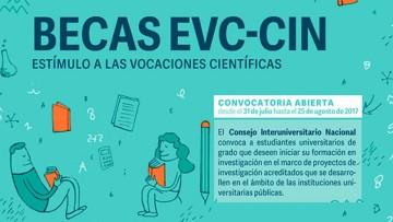 Convocan a estudiantes a Becas Estímulo a las Vocaciones Científicas