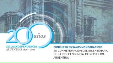 Últimos días para presentarse en el concurso de ensayos monográficos por bicentenario