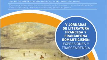 """Presentación de resúmenes de ponencias para las """"V Jornadas de Literatura Francesa y Francófona"""""""