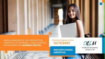 Examen CELU: inscriben para rendir examen de español como lengua extranjera - modalidad virtual