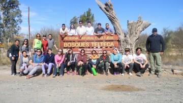 Estudiantes de Geografía visitaron la Reserva floro-faunísitica Bosques Teltecas y Altos Limpios