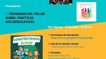 Encuentro de Presentación del Taller de Prácticas Sociales Educativas