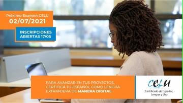 Examen CELU 2021: Inscripciones abiertas para rendir examen de español como lengua extranjera - modalidad virtual