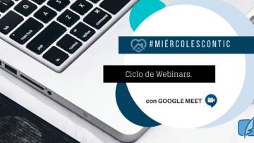 Ciclo de Webinars sobre la integración de las TIC en la labor docente