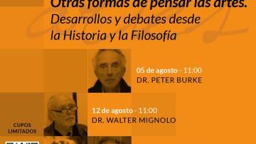 Ya está disponible, en nuestro canal de YouTube, la conferencia del Dr. Peter Burke
