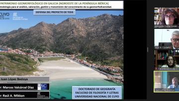 Primer egresado español en Doctorado en Geografía