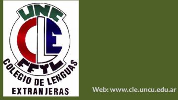 Llaman a concurso para Director del Colegio de Lenguas Extranjeras