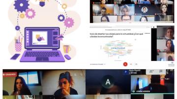 Egresados y egresadas docentes se capacitaron en herramientas para entornos virtuales