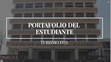 """Presentación del Blog """"El portafolio del Estudiante de Turismo"""""""