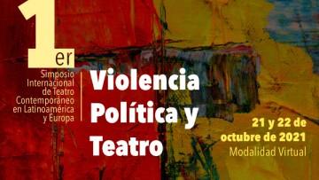 La Facultad participa en el Primer Simposio Internacional de Teatro Contemporáneo