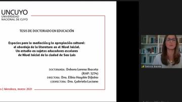 Nueva Doctora en Educación