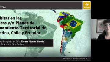 Liceda: nueva doctora en Ordenamiento Territorial
