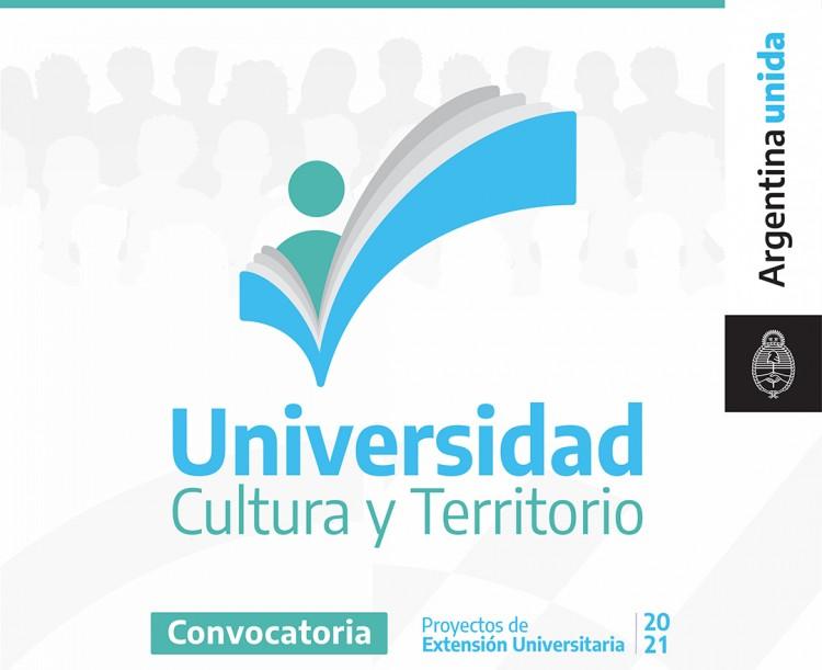 """Se encuentra abierta la Convocatoria para presentación de Proyectos de Extensión Universitaria """"UNIVERSIDAD, CULTURA Y TERRIRORIO 2021"""""""